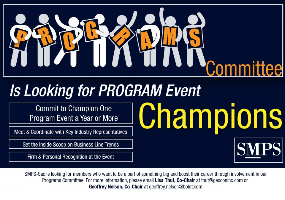 Call for Program Champions